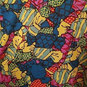 LuLaRoe candy Azure skirt